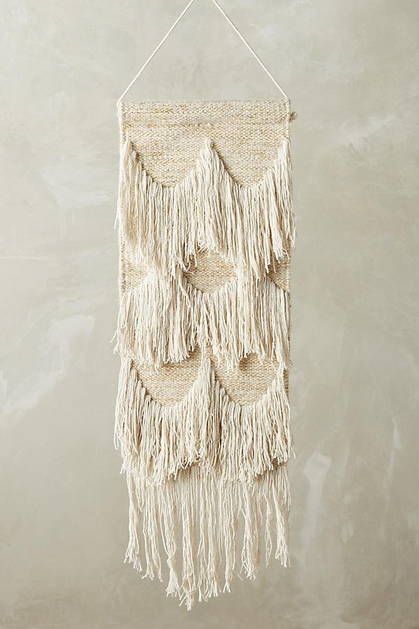Anthropologie Ojai Fringed Wall Art | Anthropologie Home Gifts With Anthropologie Wall Art (View 8 of 10)