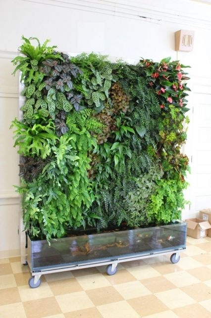 Aquaponic Living Walls Pertaining To Living Wall Art (View 6 of 10)