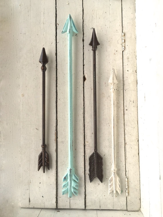 Arrow Wall Art, Arrow Wall Decor, Arrow Decor, Arrow Wall Hanging Within Arrow Wall Art (Image 4 of 10)
