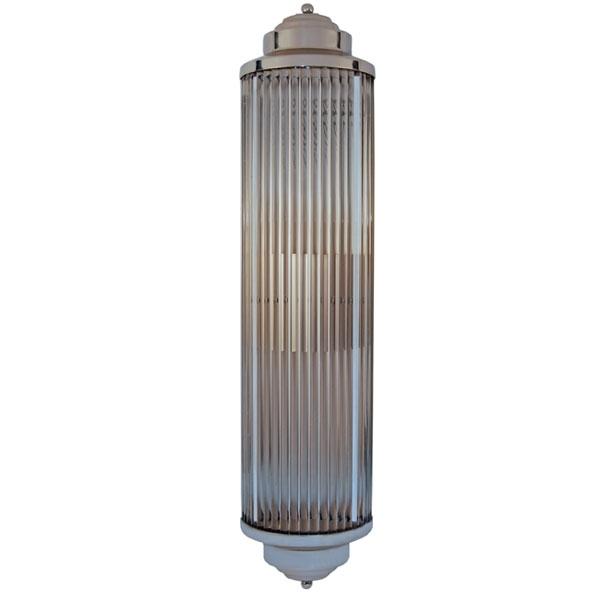 Art Deco Glass Rod Sconce Custom Lighting   Art Deco Decor Regarding Art Deco Wall Sconces (Image 2 of 10)