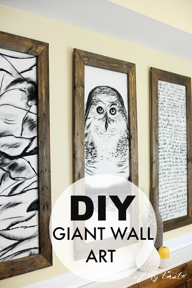 Art – The Thing That Makes Our Livesand Homes Beautiful | Pinterest Within Giant Wall Art (Image 1 of 10)