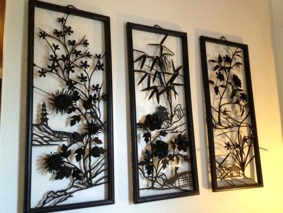Asian Wall Art Elegant Metal Best Oriental Uk – Travelinsurancedotau Inside Asian Wall Art (Image 5 of 10)