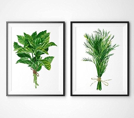 Astounding Design Herb Wall Art Online On Wanelo Set Of 6 Herbs Inside Herb Wall Art (View 9 of 10)