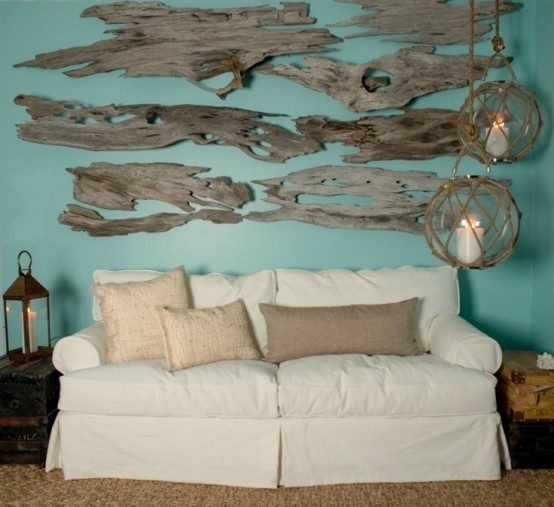Awesome Design Tips Using Driftwood In Your Coastal Decor Inside Inside Large Coastal Wall Art (Image 1 of 10)