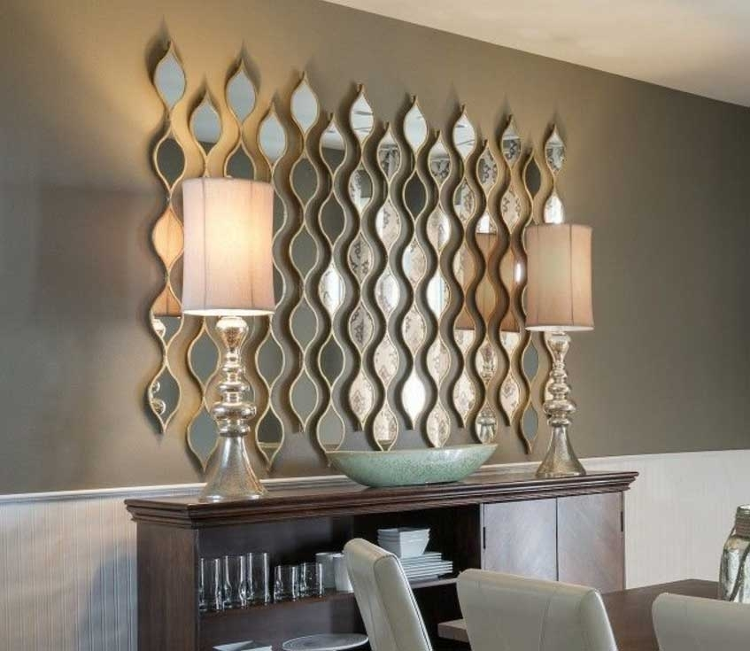 Awesome Mirror Wall Art Ideas In Various Of Design | Stonerockery Inside Mirror Wall Art (View 4 of 10)