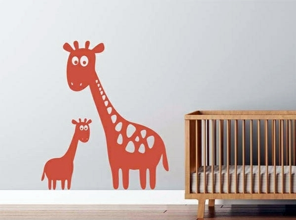 Baby Room Wall – 15 Wall Art Ideas With Animals | Interior Design Pertaining To Baby Room Wall Art (Image 1 of 10)