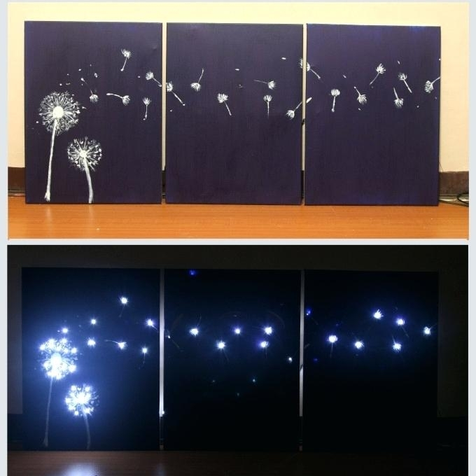 Backlit Canvas Art Wall Lights Design Modern Sample Light Up Canvas For Light Up Wall Art (Image 5 of 10)