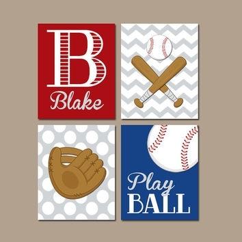 Baseball Wall Art Canvas Or Prints Baby From Trm Design | Wall Inside Baseball Wall Art (Image 3 of 10)