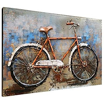Bavujw Bicycle Wall Decor Beautiful Wall Art Decor – Rfequilibrium For Bicycle Wall Art (View 5 of 10)