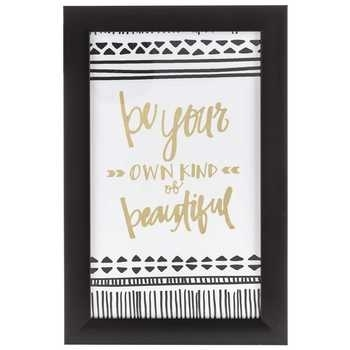 Be Your Own Kind Of Beautiful Framed Wall Decor | Hobby Lobby | 1125251 Throughout Be Your Own Kind Of Beautiful Wall Art (View 3 of 10)