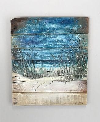 Beach Scene – Beach Art – Ocean – Wall Art – Coastal Decor – Surf With Ocean Wall Art (View 5 of 10)