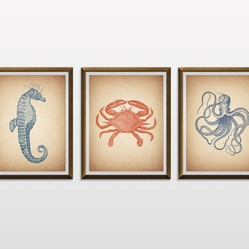 Best Sea Life Nursery Products On Wanelo Throughout Sea Life Wall Art (View 8 of 10)