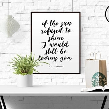 Featured Image of Song Lyric Wall Art