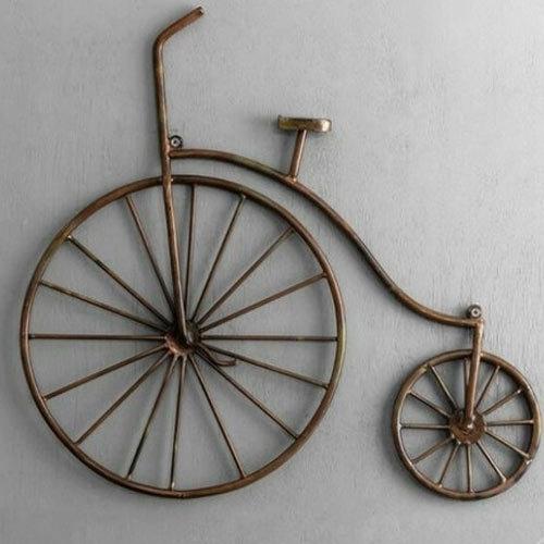 Bicycle Wall Art, Sajavati Deewar Kala, सजावटी दीवार की Inside Bicycle Wall Art (View 3 of 10)