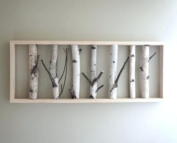 Birch Tree Wall Decor Wall Art Designs Birch Tree Wall Art The White Throughout Birch Tree Wall Art (Image 5 of 10)