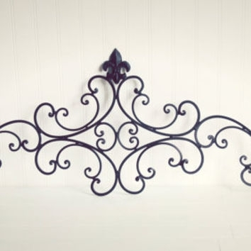 Black Iron Wall Decor Good Black Metal Wall Art – Wall Decoration Ideas Regarding Black Metal Wall Art (Image 2 of 10)