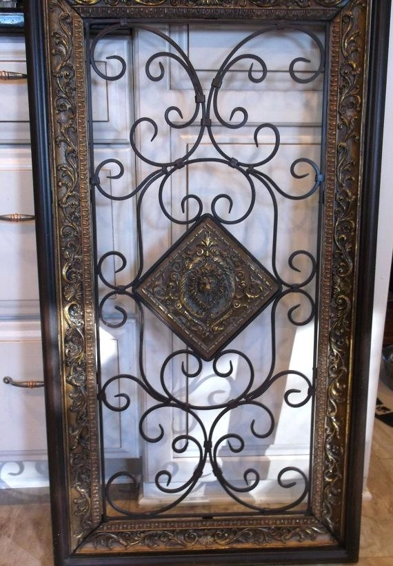 Black Iron Wall Decor Wrought Iron Wall Art For Sale Impressive Wall Throughout Wrought Iron Wall Art (Image 1 of 10)