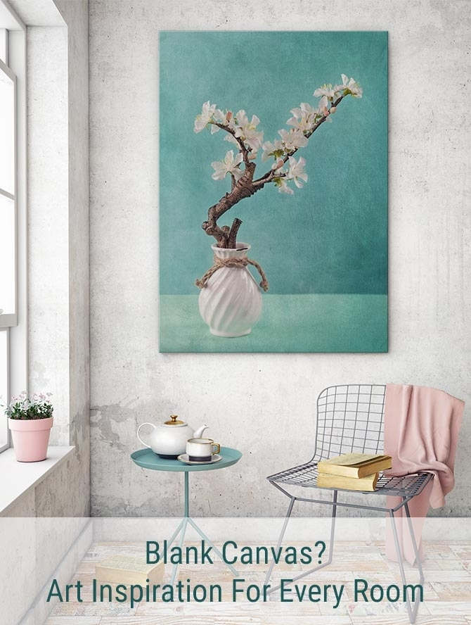 Blank Canvas: Art Inspiration For Every Room | Wall Art Prints For Wall Art Prints (Image 2 of 10)