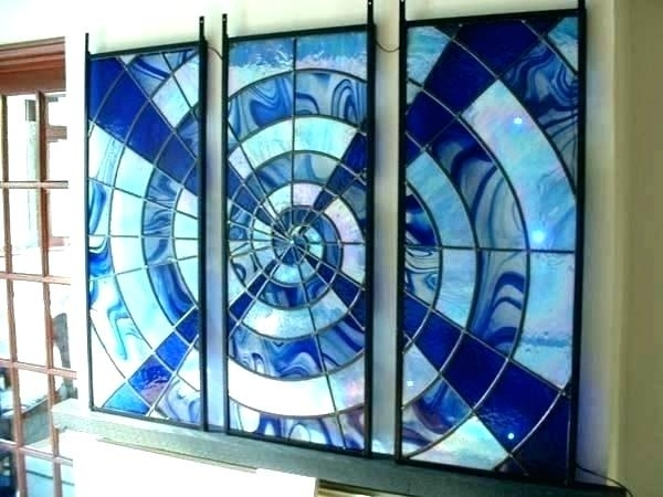 Blown Glass Wall Art Glass Wall Art Glass Art Wall Decor Glass Wall Intended For Stained Glass Wall Art (Image 3 of 10)