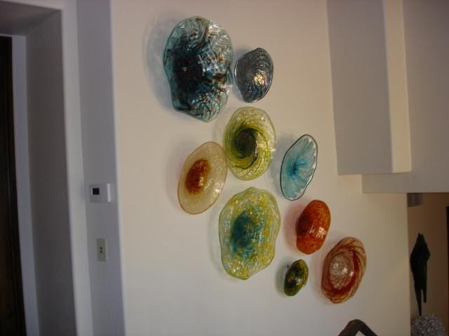 Blown Glass Wall Art Installations Lowery S Hot In Blown Glass Wall Art (Image 3 of 10)