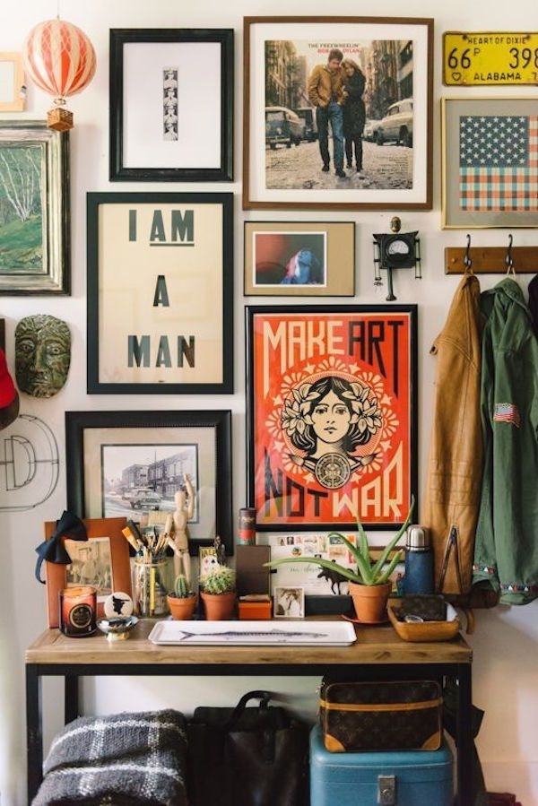Boho Style Decorating: How To Get The Look | Home Decor | Pinterest Pertaining To Bohemian Wall Art (View 2 of 10)