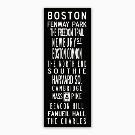 Boston Wall Art Pertaining To Boston Wall Art (Image 6 of 10)