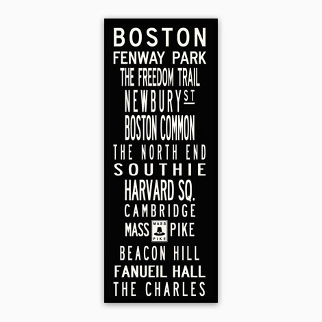 Boston Wall Art Pertaining To Boston Wall Art (View 4 of 10)