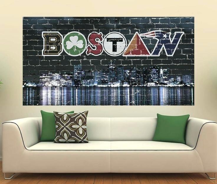 Boston Wall Decor Full Size Of Wall Skyline Wall Art Vinyl Wall Throughout Boston Wall Art (Image 8 of 10)