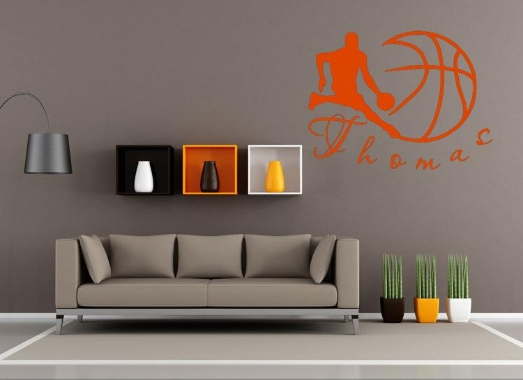 Featured Image of Basketball Wall Art