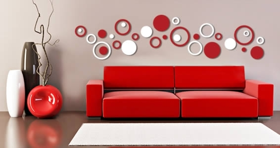 Bubbly Circles Wall Epic Circle Wall Art – Wall Decoration Ideas Throughout Circle Wall Art (Image 2 of 10)