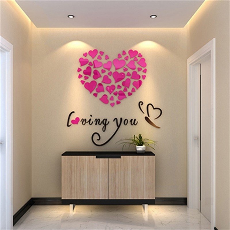 Buy Loving You Acrylic Wall Art At | Elifor (Image 3 of 10)