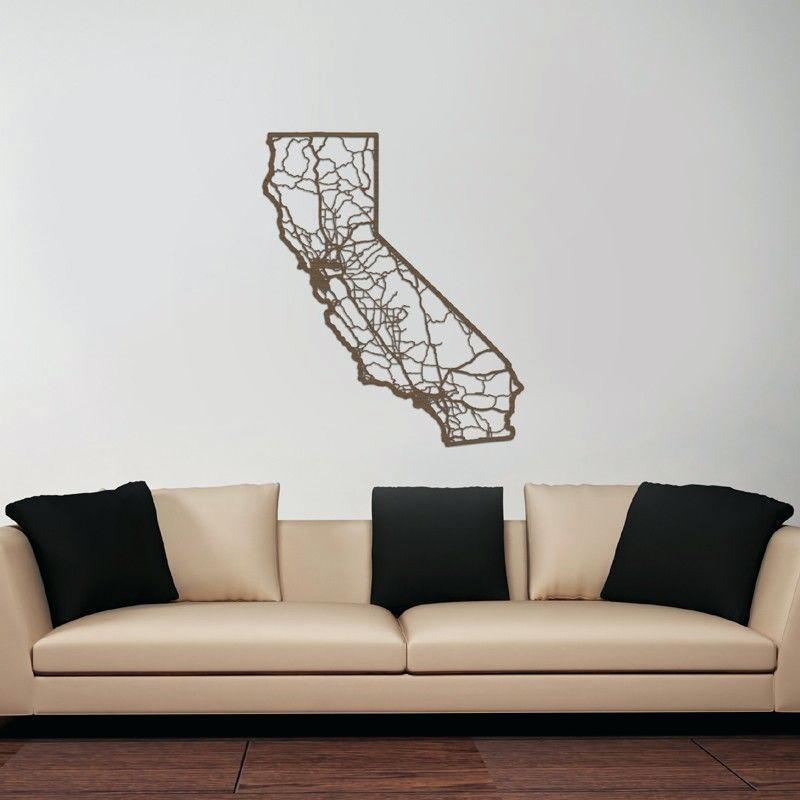 California Wall Art Flag – Armistead With California Wall Art (View 3 of 10)