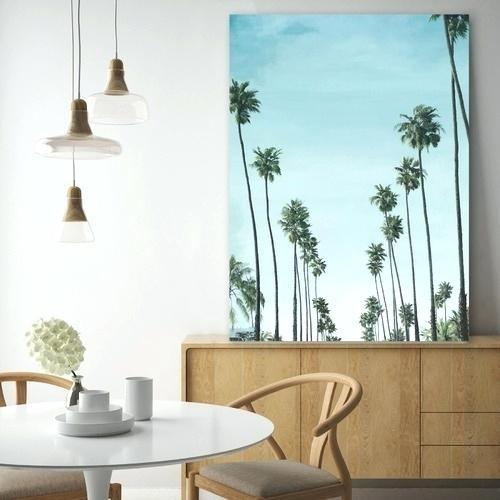 California Wall Art The Print Emporium Palms Printed Wall Art Wooden With California Wall Art (View 10 of 10)