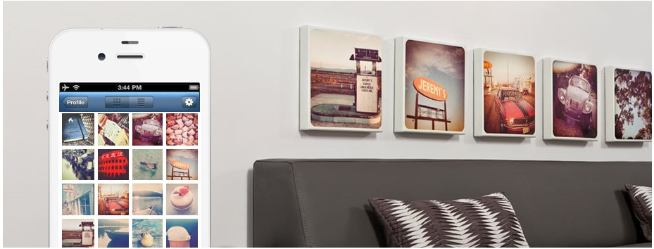 Canvaspop Partners With Instagram To Make Wall Art | Vatornews With Regard To Instagram Wall Art (Image 1 of 10)