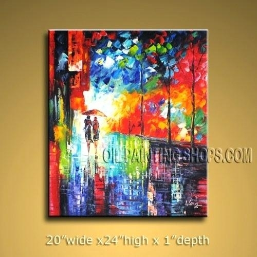 Captivating Large Colorful Wall Art 41 1 Piece Artwork Abstract Within Colorful Wall Art (Image 2 of 10)