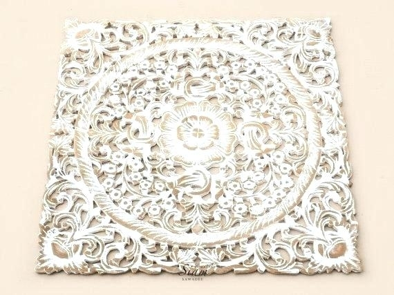 Carved Wood Panels For Sale Wood Wall Art Panels White Wash Wood Regarding Carved Wood Wall Art (Image 5 of 10)