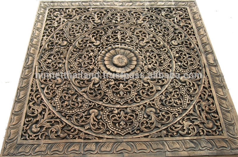 Carved Wood Panels Wall Art – Buy Wood Carving,teak Wood Carving In Wood Carved Wall Art (Image 5 of 10)