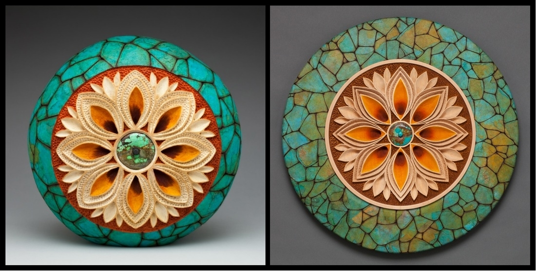 Carved Wooden Wall Art & Wooden Artwork For Wallsmark Doolittle In Round Wood Wall Art (Image 1 of 10)
