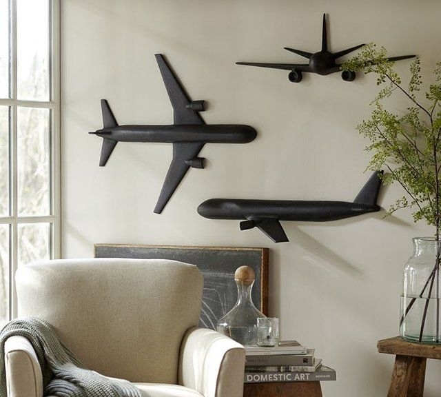 Cast Plane Wall Art … | Airplane | Pinte… Throughout Airplane Wall Art (Image 8 of 10)