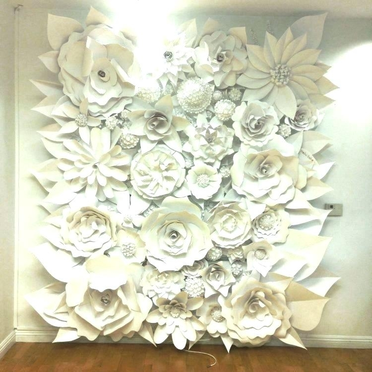 Ceramic Flower Wall Decor Ceramic Wall Art White Ceramic Wall Art With Ceramic Wall Art (Photo 6 of 10)