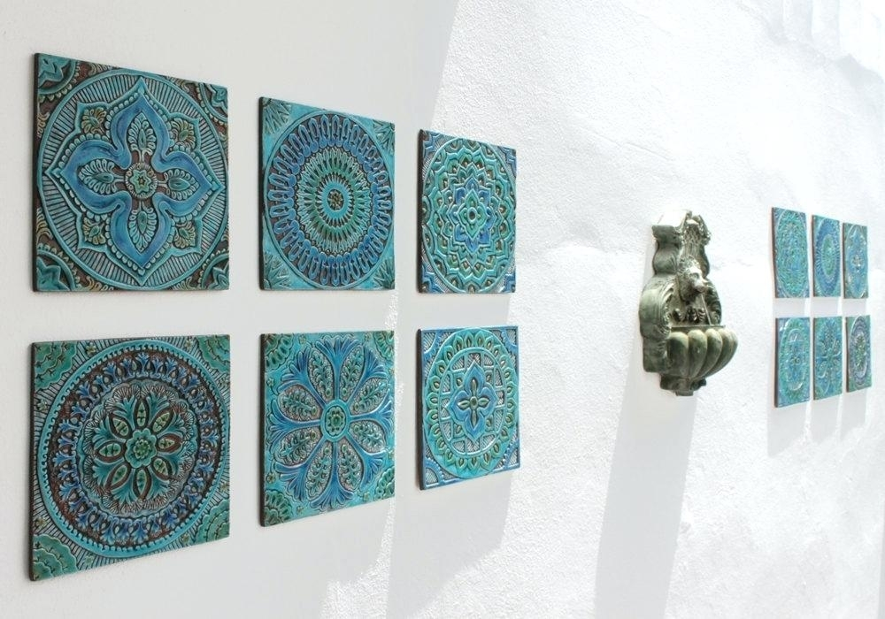Ceramic Wall Art Cute Ceramic Wall Art Ceramic Wall Art For Bathroom In Ceramic Wall Art (Image 2 of 10)