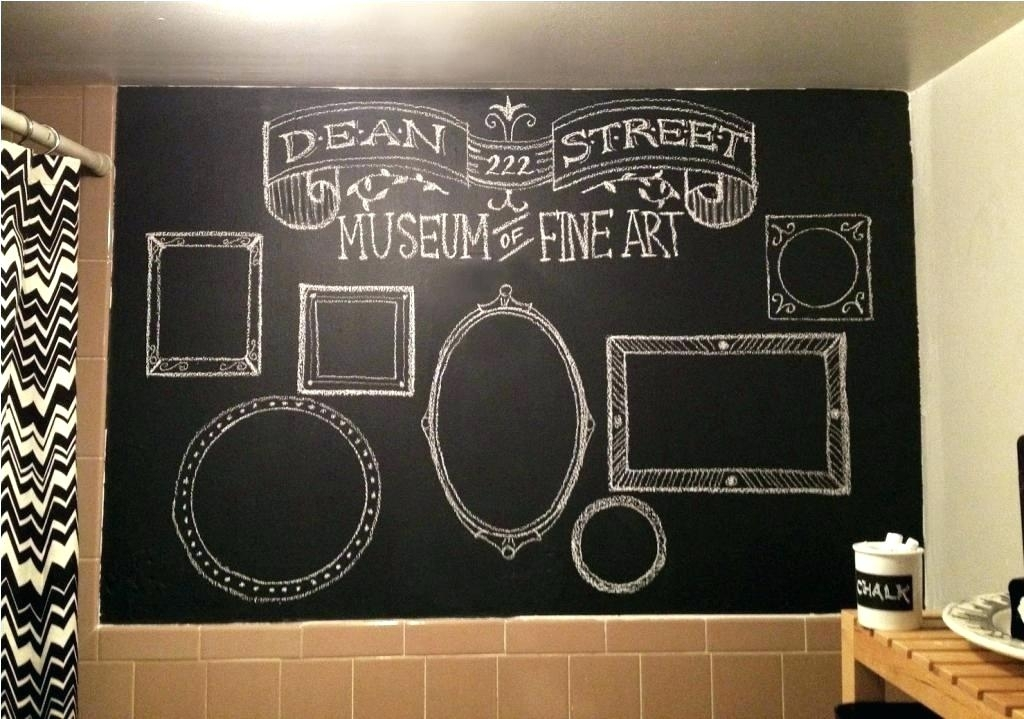 Chalkboard Walls Chalkboard For Wall Kitchen With Chalkboard Wall In Chalkboard Wall Art (View 9 of 10)