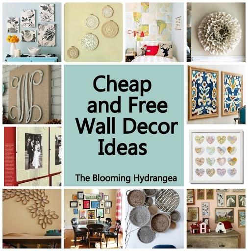 Cheap Wall Decor Ideas Cheap Free Wall Decor Ideas Roundup Regarding Cheap Wall Art (View 3 of 10)