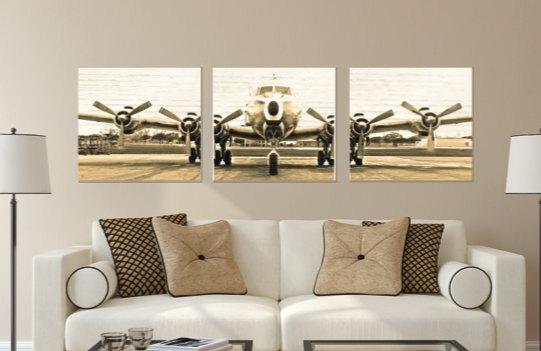 Chic Design Aviation Wall Art Elegant Bedroom Andrews Living Arts Intended For Aviation Wall Art (View 8 of 10)