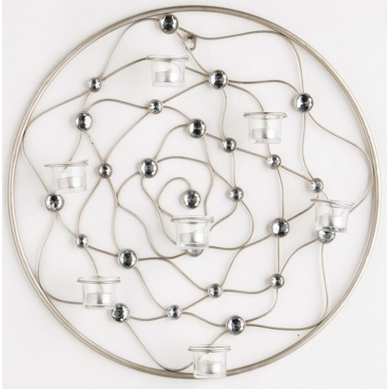 Circular Wire Gem Wall Art, 2800430 4588 Furniture In Throughout Wire Wall Art (Image 3 of 10)