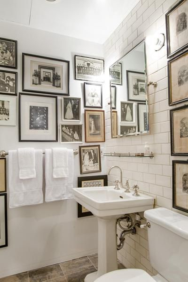 Classic Bathroom Wall Art Decor Within Bathroom Wall Art Decors (Image 6 of 10)