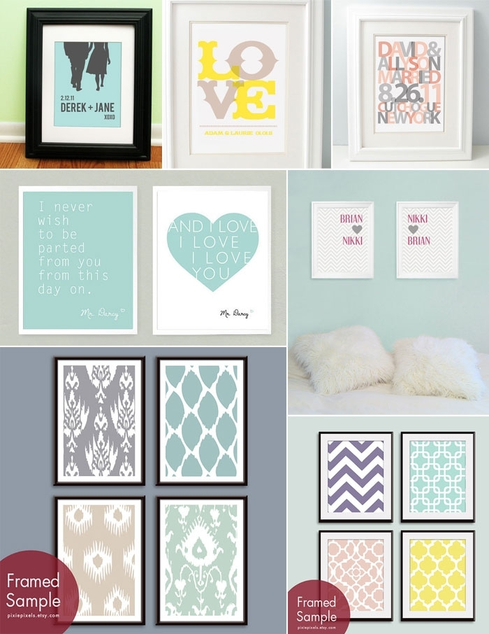 Colorful And Customizable Wall Art Prints With Wall Art Prints (Image 5 of 10)