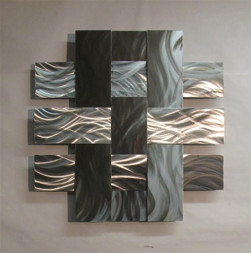 Contemporary Metal Sculptures | Contemporary Metal Wall Art Within Large Metal Wall Art (Image 2 of 10)