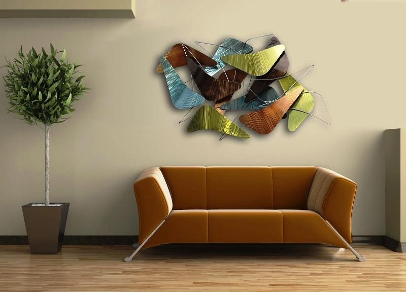 Contemporary Metal Wall Art Decor — Room Decor : Ideas Modern Wall For Contemporary Wall Art Decors (Image 1 of 10)
