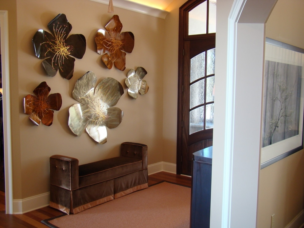 Contemporary Metal Wall Art Sculpture — Joanne Russo Homesjoanne With Metal Wall Art Decors (Image 3 of 10)